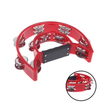 Toy Musical Instrument Hand Held Tambourine Bell Jingles Percussion for KTV Party for Kids Games Wholesale Retail(China (Mainland))
