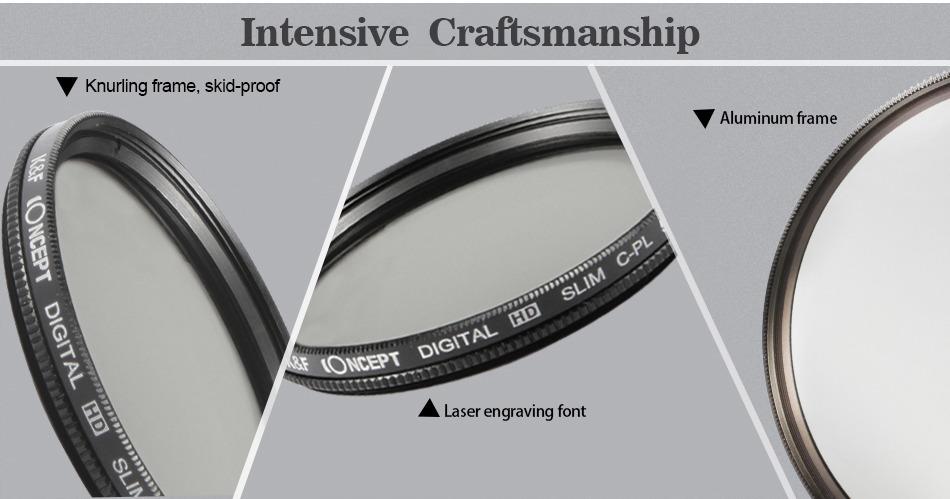 77mm Digital Slim CPL Circular Polarizer Polarizing Filter For Canon EF S 10 22mm f 3