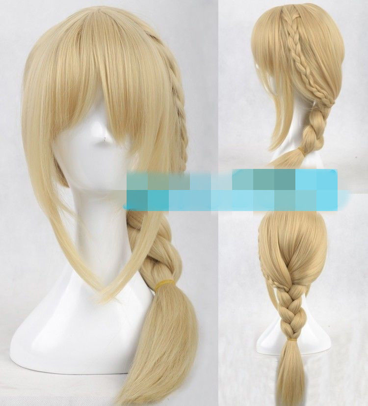 New Movie How To Train Your Dragon 2 Astrid Blonde Braid Cosplay Wig&gt;&gt;Party cosplays  heat resistant free shipping<br><br>Aliexpress