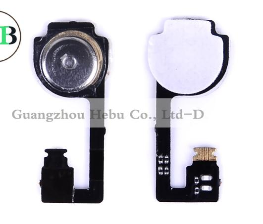 home button for iphone 4 4g home button with flex cable with key cap for apple iphone 4 home button black white free shipping(China (Mainland))