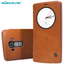 Buy Original Nillkin LG G4 Quick Circle Case LG G4 H810 H815 VS999 F500 H818 LS991 Flip Leather Cover Sleep Wake Phone Shell for $8.99 in AliExpress store