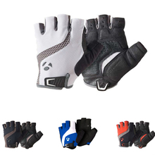 2015 NEW  RL Fusion Gel Foam Cycling glove Fingerless MTB Mountain bike Gloves Half finger Downhill  Bicycle  PU gloves(China (Mainland))