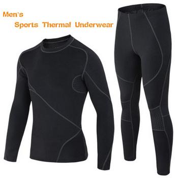 Waka открытый зимние виды спорта термобелье мужчины бренд спортивной спортивные мужские костюмы кальсоны, Согреться, Дышащая
