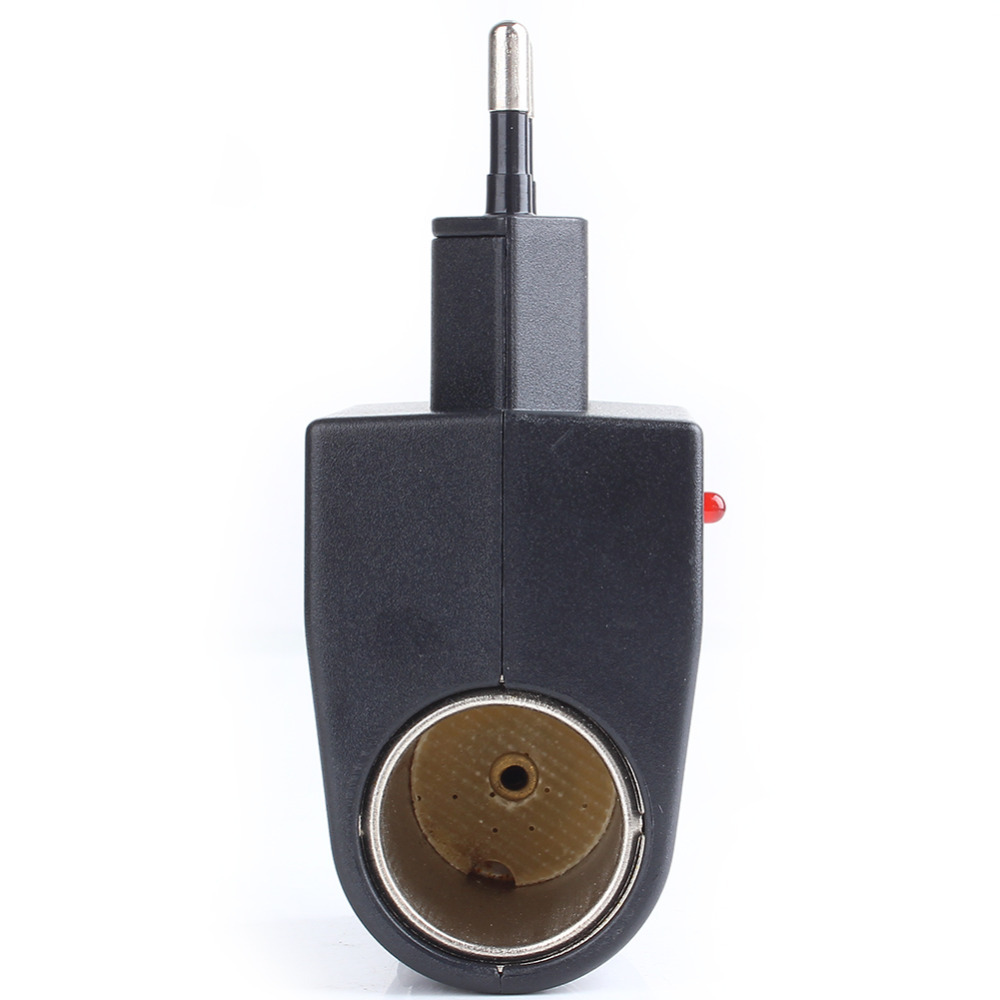 Car Cigarette Lighter Adapter Converter 220V Wall Power to 12V DC Car Cigarette Lighter Adapter Converter