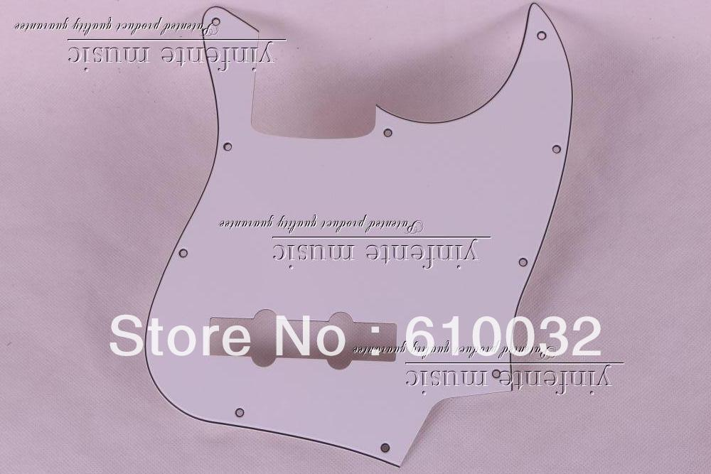 1pcs Pickguard FOR FENDER JAZZ BASS GUITAR and Control Plate 3-PLY 89#(China (Mainland))