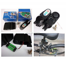 New Bike Motorbike Anti-Theft Alarm Audible Sound Security Lock Bicycle  CLSK
