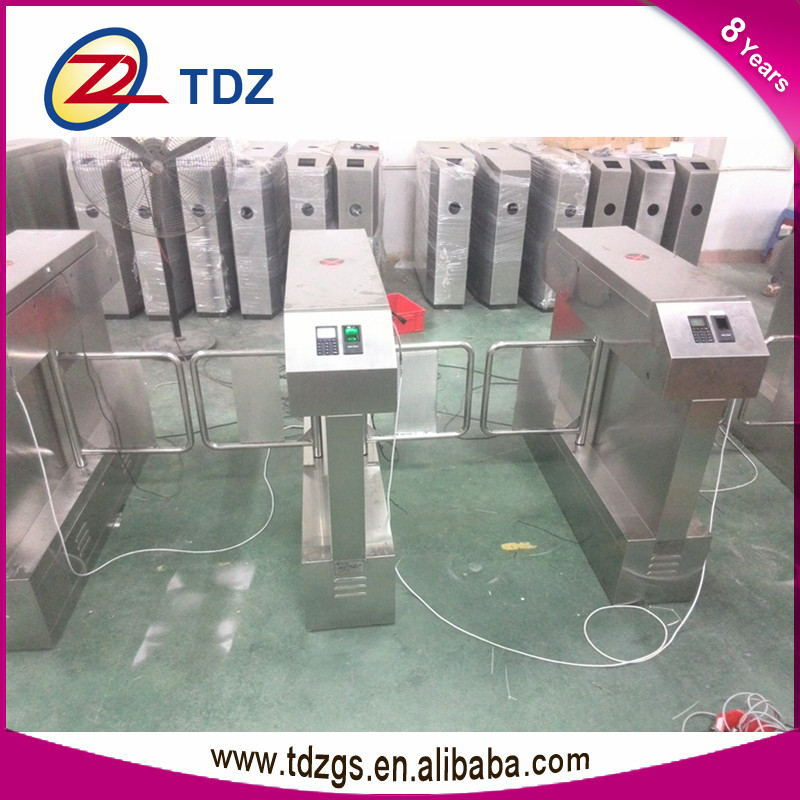 Automatic swing barrier gate,security turnstile gate for amusement park(China (Mainland))