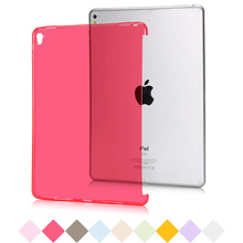 For Apple iPad Mini 1 2 Case Crystal Clear Transparent TPU Bottom Cover Soft Tablet Case For iPad Mini 3 Back Protective Cover(China (Mainland))