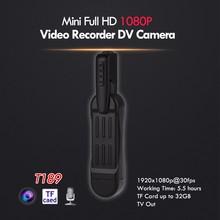 Buy BOBLOV T189 8MP Full HD 1080P Mini Camara Pocket Camcorder Voice Recorder Digital Video Camera Clip Mini DV for $31.99 in AliExpress store