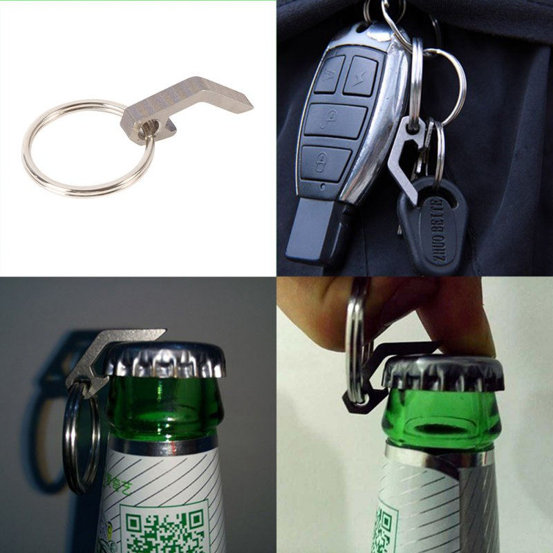 popular titanium bottle opener ring buy cheap titanium bottle opener ring lots from china. Black Bedroom Furniture Sets. Home Design Ideas