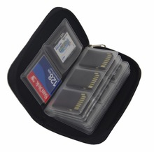 Memory Card Cases SDHC MMC CF for Micro SD Card TF Cards Memory Stick Storage Bag Carrying Pouch Protector Colorful Container(China (Mainland))