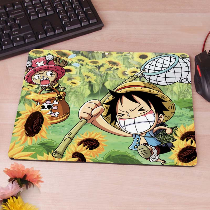 ONE PIECE Computer Mouse Pad Mousepads Decorate Your Desk Non-Skid Rubber Pad<br><br>Aliexpress