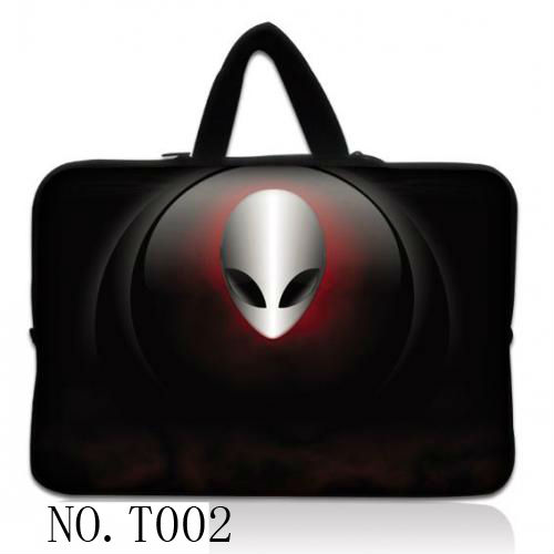 """Alien 14"""" 14.1 Tiger Laptop Sleeve Case Bag Cover +Handle For Sony VAIO/CW/CS/ HP Dell Acer Apple Macbook Pro 15""""(China (Mainland))"""