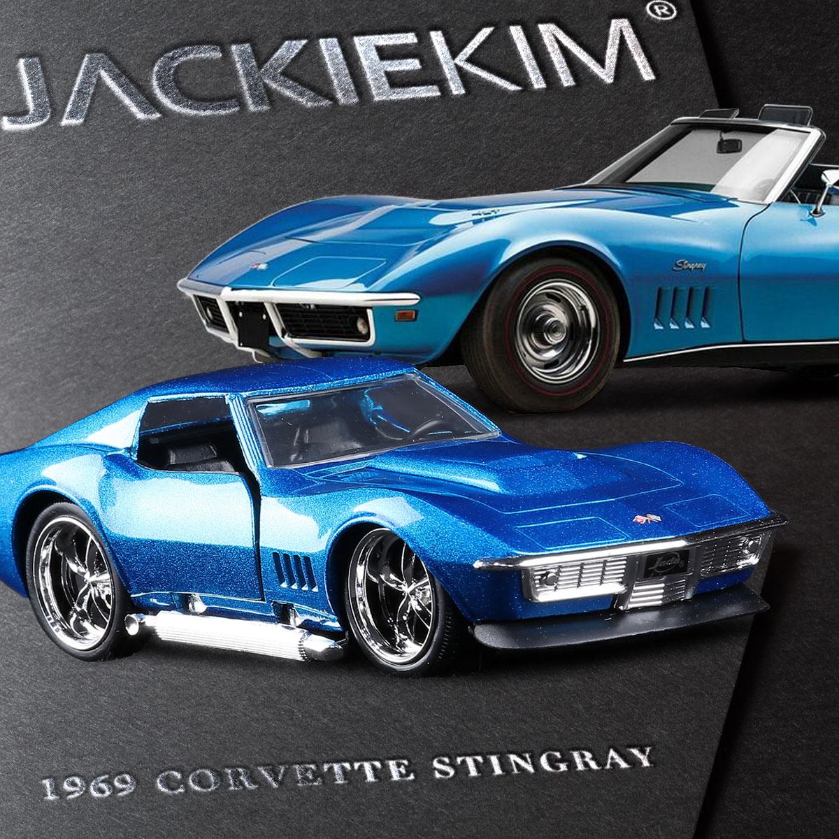 JADA 1:32 scale High simulation alloy model car,Chevrolet Corvette STINGRAY,quality toy models,free shipping(China (Mainland))