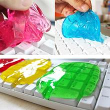 1pc Soft Cleaning Glue Slimy Gel Wiper For Keyboard Laptop Car Cleaning Glue Washer Car Accessories s2