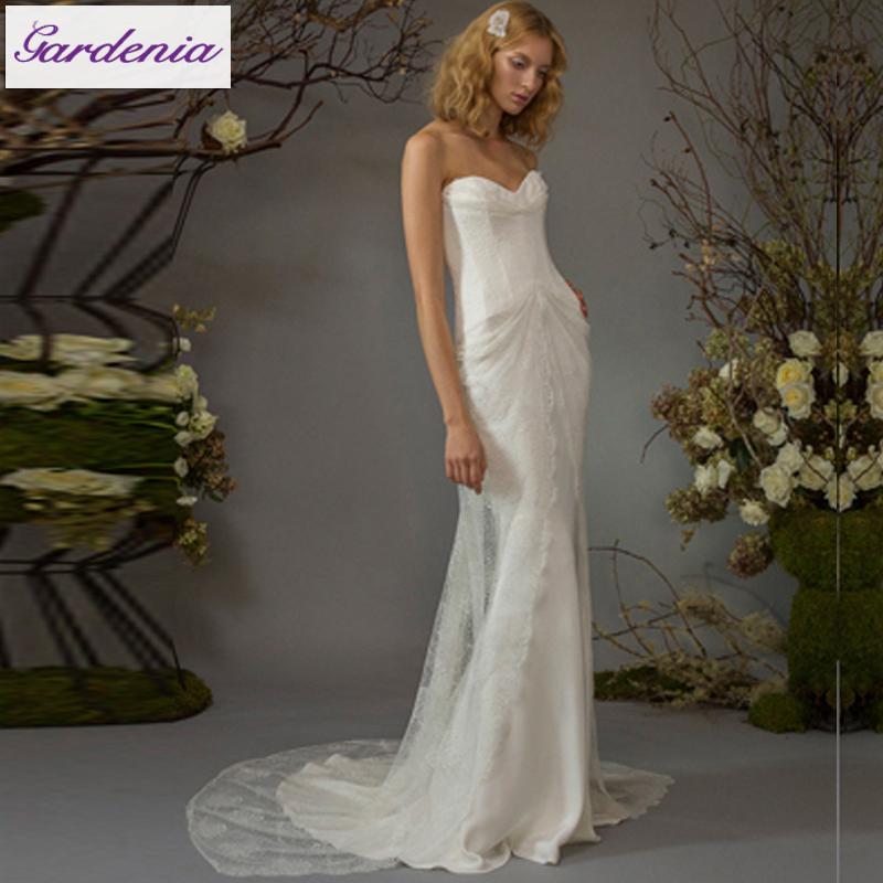 Hot designer beach wedding gown vestidos de novia 2015 for Sexy designer wedding dresses