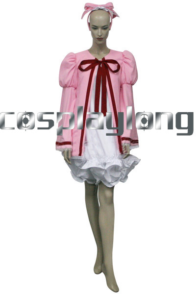 Hot Anime Rozen Maiden Hinaichigo Strawberry Doll Cosplay Costume Women Halloween Party Christmas Cos Suits Free Ship
