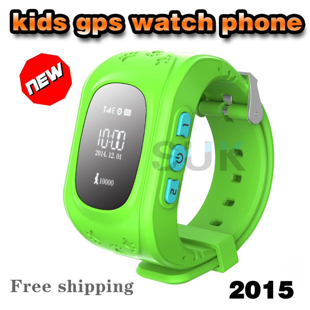 2015 New GPS children Smart Watch Phone Remote monitoring GPS Position Tracking Bluetooth SOS Call Kids watch Mobile Phone(China (Mainland))