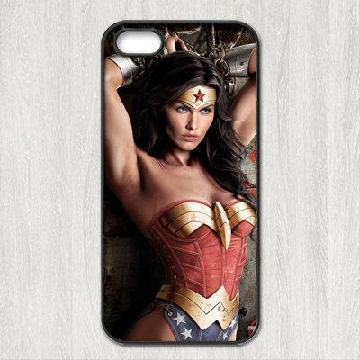 Wonder Woman fashion Cool case for iPhone 4 4s 5 5s 5c 6 plus Samsung galaxy A3 A5 A7 S3 S4 S5 Mini S6 Edge Note 2 3 4(China (Mainland))