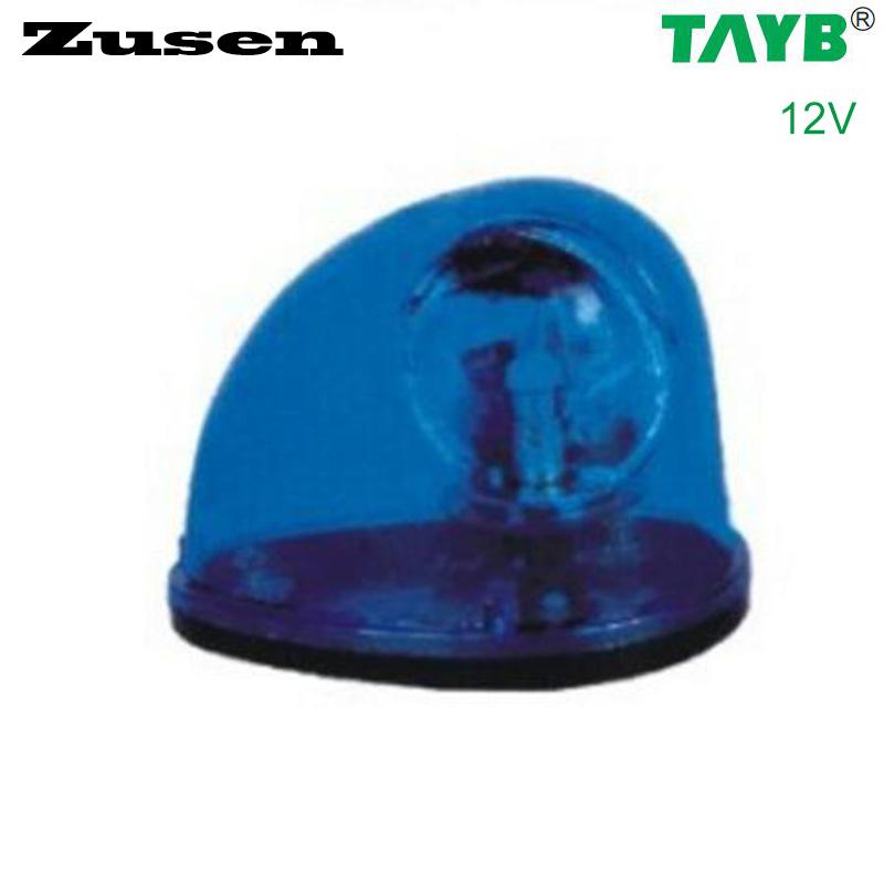 Zusen blue led TB1201 12V traffic barrier light signal warning Light Lamp magnet bottom(China (Mainland))