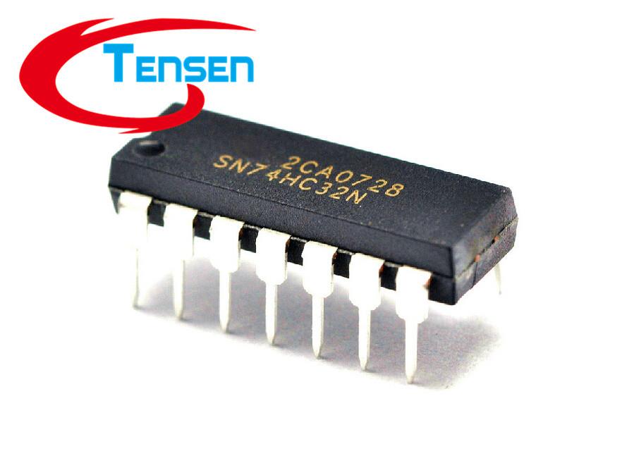 Гаджет  25Pcs/Lot 74HC32D 7432 SN74HC32 Quadruple 2-Input OR Gates DIP-14 74 Logic IC None Электронные компоненты и материалы