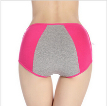 A0171 2015 new hot sale Ladies Menstrual Period cozy Pants Physiological  Panties Briefs underwear  Ladies Sexy Women Briefs(China (Mainland))