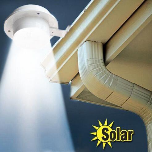 LED Solar Lamp Sensor Waterproof Solar Light 3 LEDs Street Light Outdoor Path Wall Lamp Security Spot Lighting(China (Mainland))