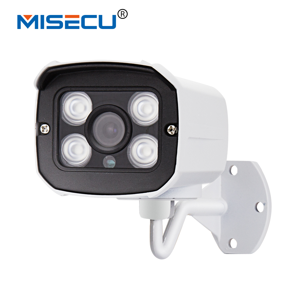 MISECU 48V POE Camera 1920*1080P 2.0MP IR IP Camera POE ONVIF Waterproof Out/indoor Night Vision P2P CCTV security XMEye(China (Mainland))