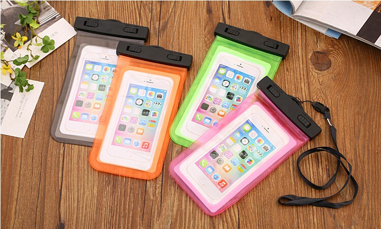 Waterproof Underwater Phone Case Bag Pouch for iPhone 6 6s plus 5 5c 5s SE 4s for galaxy grand prime s6 s5 s4 huawei xiaomi