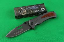Envío gratis nuevo OEM Strider F72 plegable que acampa cuchillos de bolsillo del cuchillo de caza herramienta mano 440 57HRC envío gratis lámina de titanio