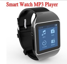 2015 New Bluetooth Smart Watch mp3 player Touch Screen Sport Running MP3 Players 4GB memory(China (Mainland))