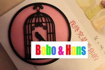 New Cute Bird cage style cup mat / cup pad / coaster / Table Decoration & Accessories / Wholesale