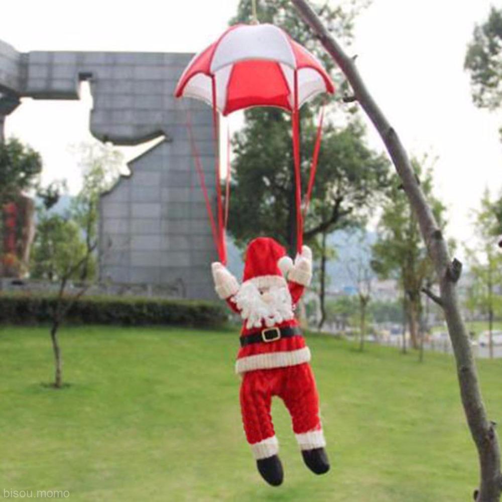 Christmas tree hanging decorations new parachute santa claus snowman - Christmas Tree Hanging Decorations New Parachute Santa Claus Snowman 33
