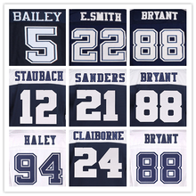 88 DEZ BRYANT jerseys 82 JASON WITTEN THROWBACK 9 TONY ROMO jerseys 5 DAN BAILEY 21 SANDERS 12 ROGER STAUBACH 88 irvin jerseys(China (Mainland))