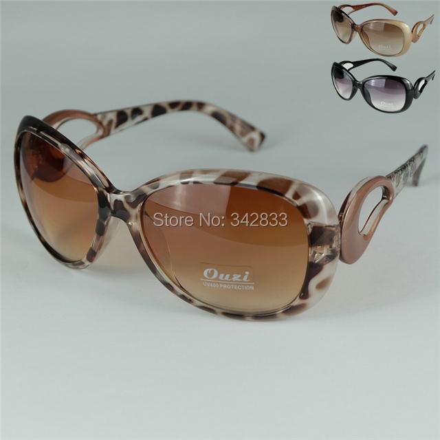 2016 New Grace Ladies Sunglasses Women Fashion Crescent Leg Pattern Large Style UV400 Lens - Casper's Face store