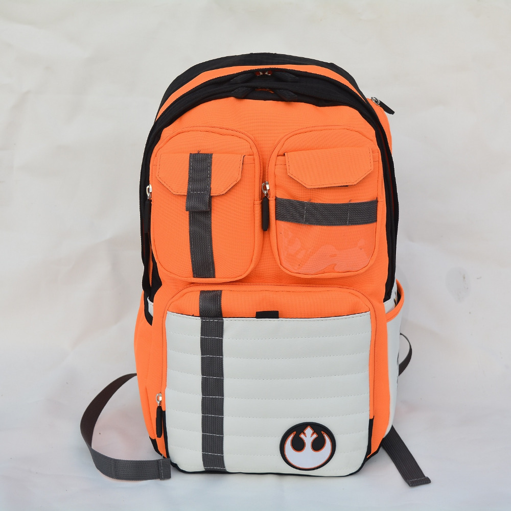 New Star Wars Backpack Rebels Logo Alliance Icon Canvas Teenager School Bag Wholesale Children Schoolbag High College Rucksack(China (Mainland))