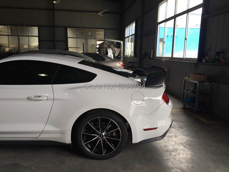 SHELBY GT350R STYLE WING SPOILER DIEGNED FOR MUSTANG 2.3 CARBON FIBER WING SPOILER FOR MUSTANG 2.3