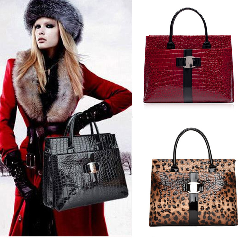 Fashion Brand Women bag Crocodile clutch tote Crossbody bag ladies handbags bolsas genuine leather bags for
