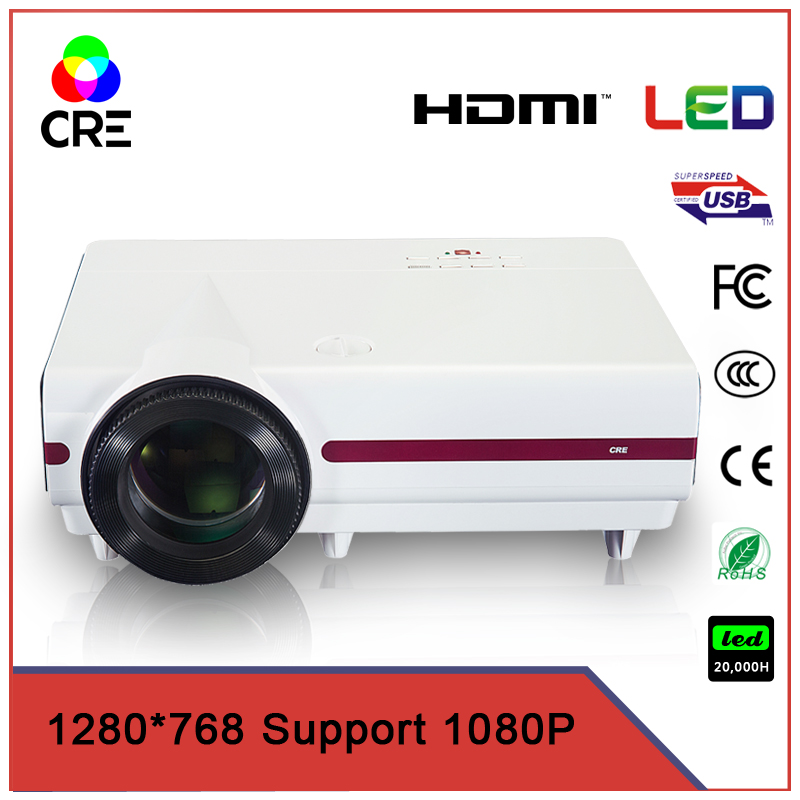 school and office presentation 3500 lumens projector with hdmi vga usb tv multimedia connection crex1500 hot selling