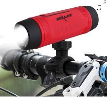 Zealot S1 Bluetooth Speaker Portable Subwoofer Power Bank Rechargeable with LED light for Outdoor Sport and 3 IN 1 function