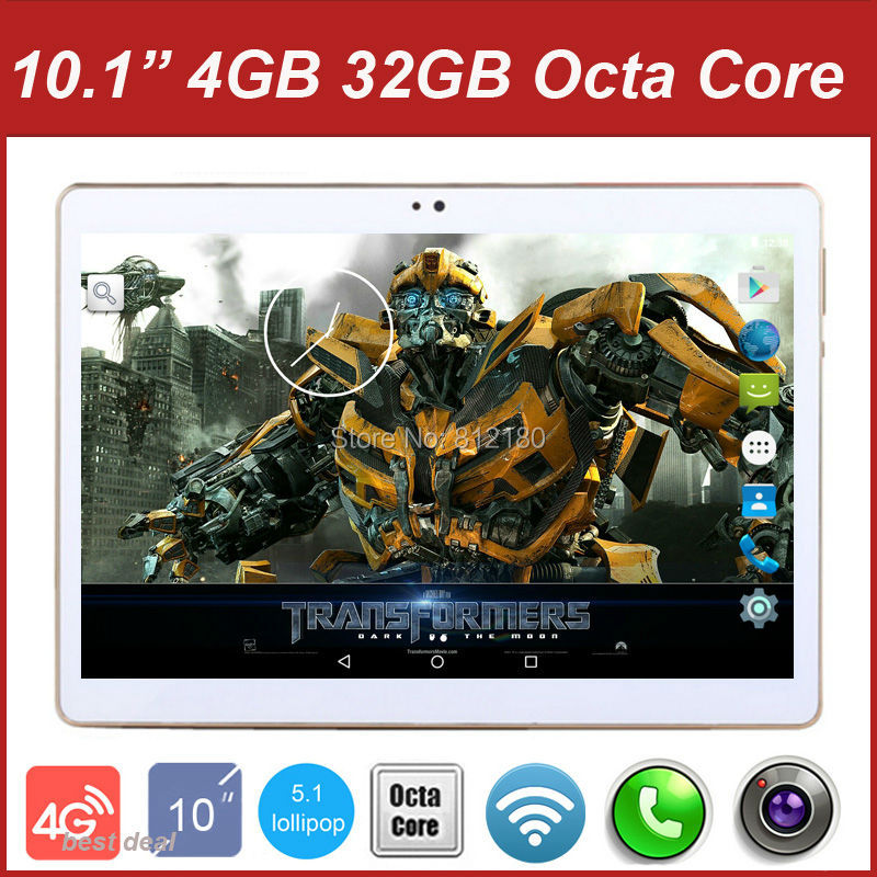 DHL Free Shipping Octa Core 10 inch 4G Lte Tablet PC 4GB RAM 32GB ROM Dual SIM Cards Android 5.1 GPS 5.0MP IPS 3G Tablet PC 10(China (Mainland))