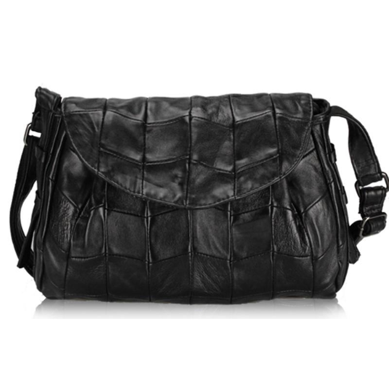 Famous brand women genuine leather bag female handbag Sheepskin shoulder bag high quality ladies messenger bag bolsa feminina <br><br>Aliexpress