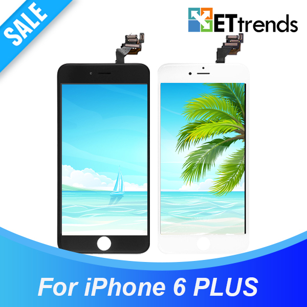 3PCS/LOT AAA No Dead Pixel LCD for iphone 6 plus 5.5' LCD display Complete LCD Screen & Digitizer Assembly DHL Free Shipping(China (Mainland))