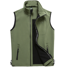 SheXiang Mrs 2016 Men's Outdoor Hunting Camping Friendly Fleece Vest Outerwear Director Reporter Vests Sleeveless Jacket Vest(China (Mainland))