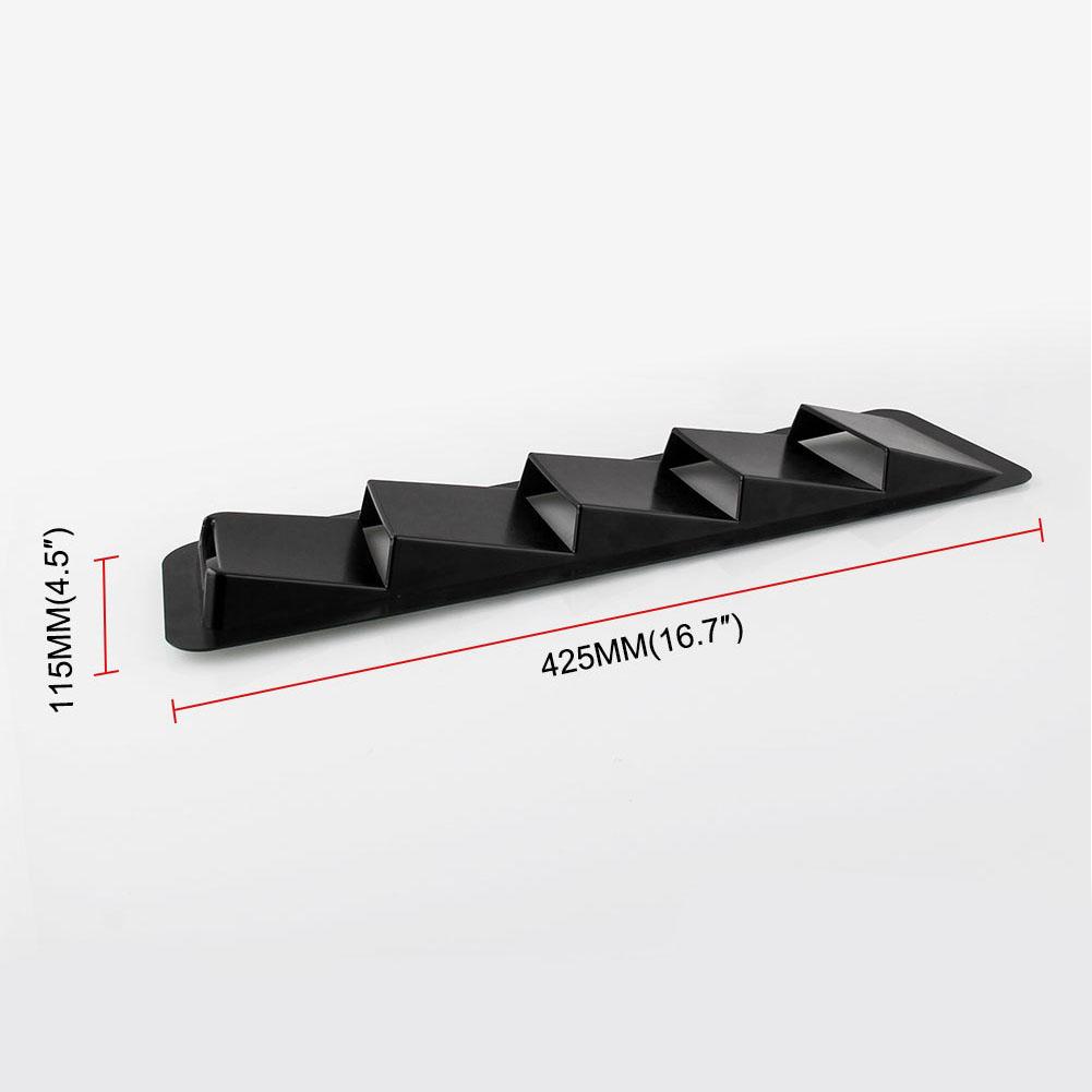 1 пара Универсальный Жалюзи матовый черный капот автомобиля Вентс Car аксессуары aeProduct.getSubject()