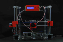 Acrylic Frame LCD Screen Acquired Reprap Prusa i3 desktop 3D Printer Machine High Precision impressora DIY Kit