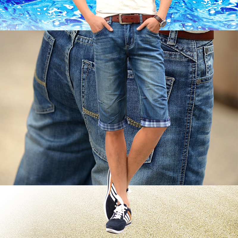 2015 New Design Jeans Pants Male Famous Brand Pants Cool Simple Blue Jeans Trousers Summer Jeans for Boy Fashion Clothing(China (Mainland))