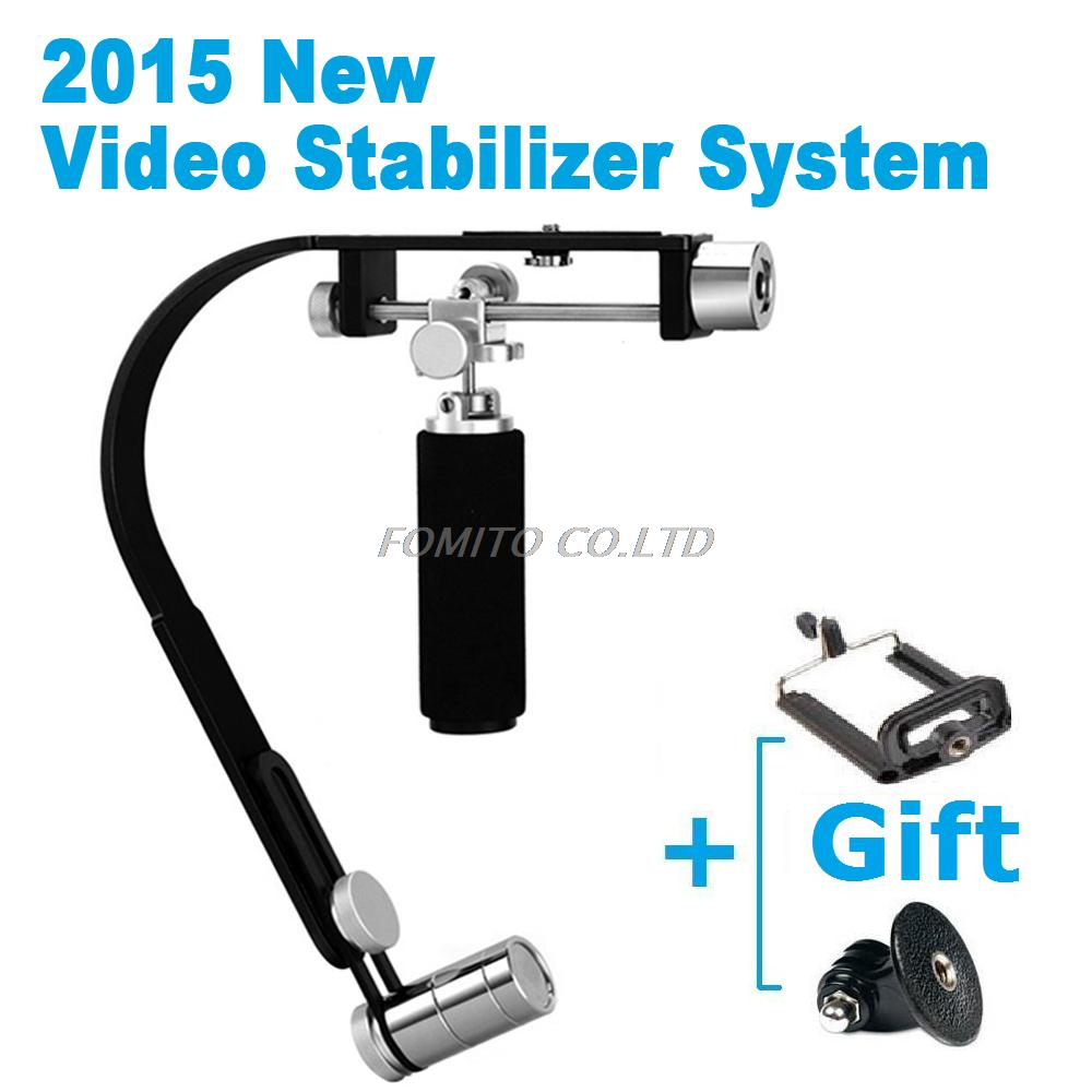 2015 New Professional Protable Handle Handheld  Steadycam Cam Video Stabilizer