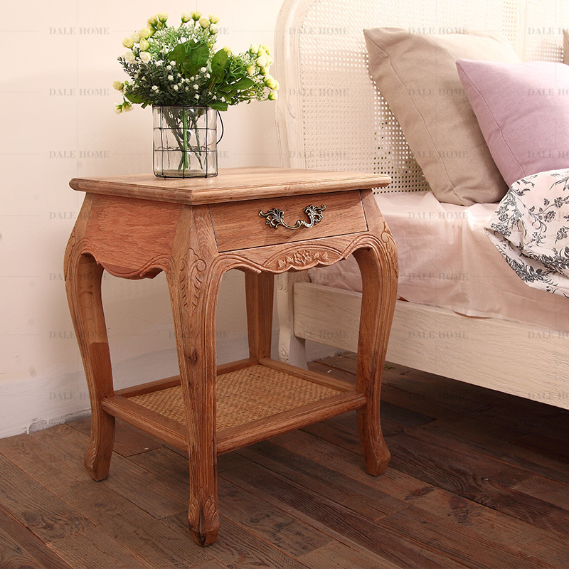 Carved do a few old French horn / Bedside / Side Table(China (Mainland))