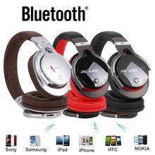 Buy bluetooth headset High Zealot B5 Wireless Bluetooth Stereo Earphone Headphones Headset Microphone FM xiaomi mp3 for $25.88 in AliExpress store